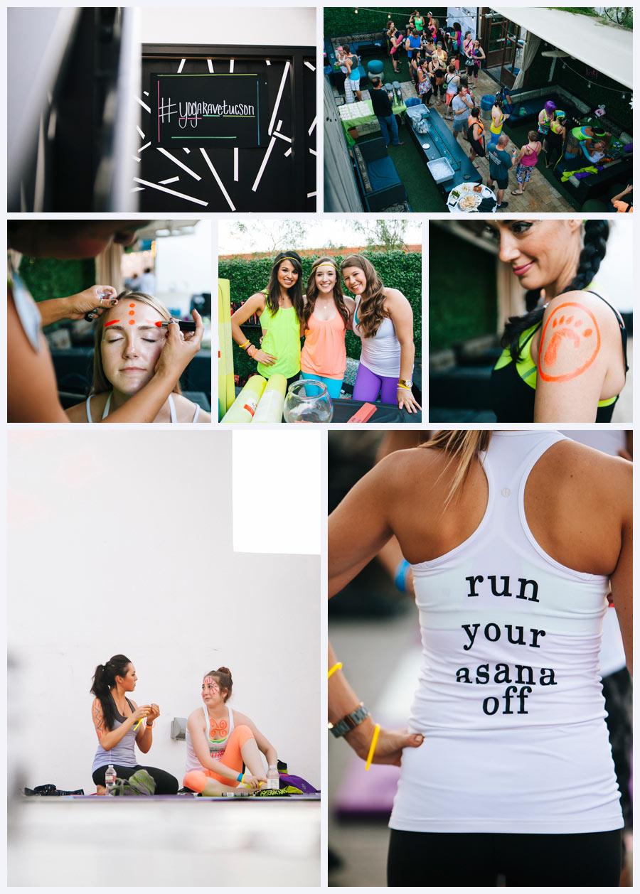 Tucson Photographer Yoga Rave Downtown Tucson Arizona