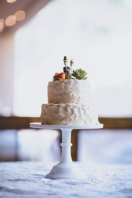 Alex and Julian's wedding cake photo