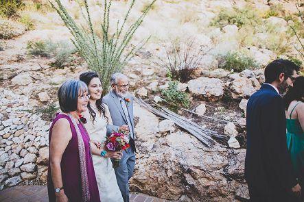 tucson bride procession