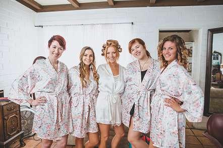 Bridesmaids on a Tucson, Arizona Wedding Day