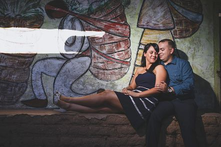 Tucson Wedding Photographer Justin Haugen DeGrazia Gallery Engagement Photos