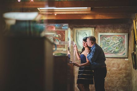 DeGrazia Gallery Tucson Engagement Photos
